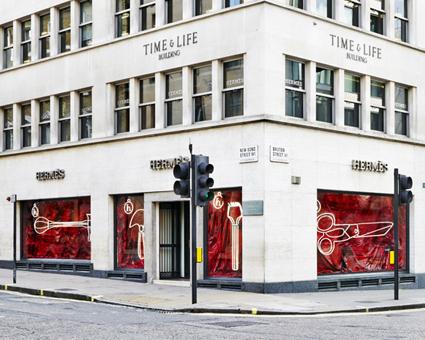 Hermès... New Bond Street