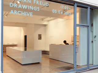 Lucian Freud... Mayfair